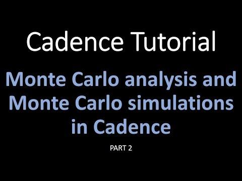 Cadence Tutorials : Monte Carlo Simulation In Cadence Part 2. Simple Examples In Cadence
