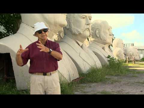 David Adickes on the Presidents Heads