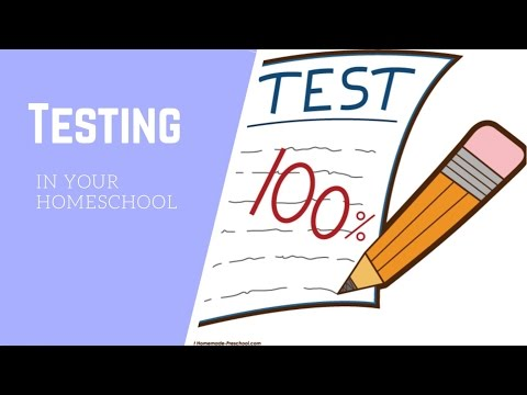 HOMESCHOOL TESTING ? IS IT NECESSARY?