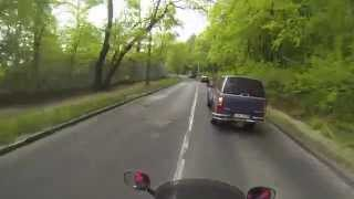Motorrad fahren Budapest Ungarn, Motorcycle Hungary Budapest, Piaggio X9 test