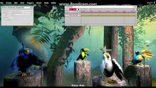 Talking Tropical Birds Singing Set Test