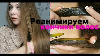 Как предотвратить сечение и сухость кончиков волос/лечение/уход за кончиками волос