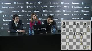 Press conference with Kramnik and So