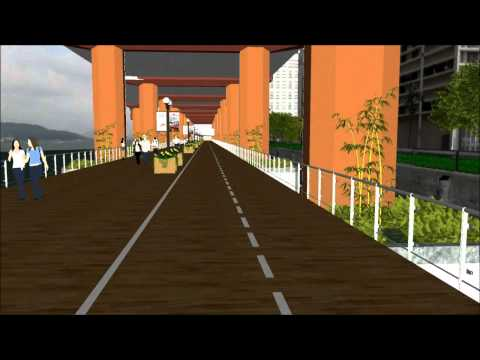 IEC Boardwalk and Cycleway (Chinese)