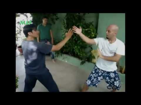 Pierre Francois Flores (Wing Chun Nam Anh Kung Fu) Vs Mr. Vu Ly