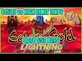 Trying UpTo $50 BETS on Sahara Gold HIGH LIMIT Slot Machine | Bonus Live Play at The Casino