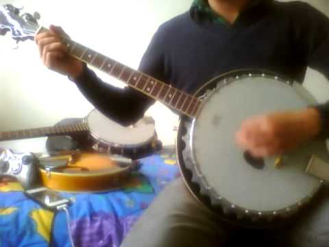 Dropkick Murphys-Prisoners Song (banjo cover)