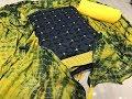 Diwali Special Unstitched Designer Cotton Dress Materials || designer dresses for girls