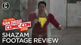 Shazam Trailer Review - SDCC 2018
