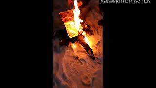 Видео урок как расжечь костер