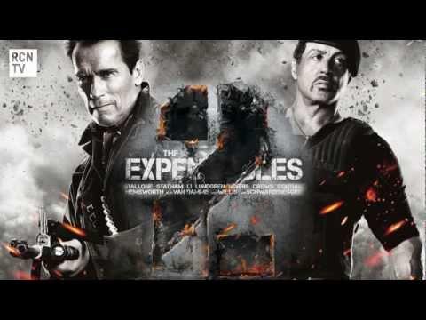 The Expendables 2 Stallone & Schwarzenegger  Interview - Stunt Death & Politics