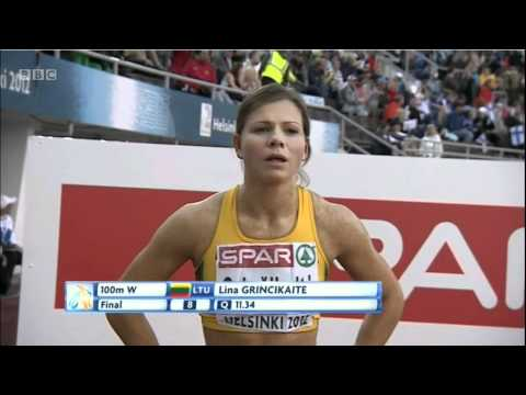 women 100m final