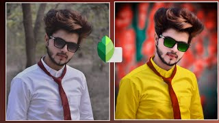 Snapseed background colour change    amazing tricks    best photo editing  tutorial pixel editor
