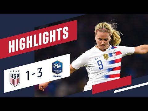 WNT vs. France: Highlights - Jan. 19, 2019