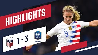 WNT vs. France: Highlights - Jan. 19, 2019