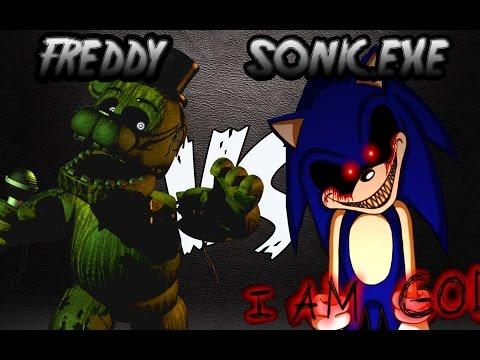 Freddy fazbear vs sonic exe rap carraxx ft mc energy doovi