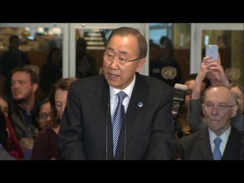 Ban Ki-moon's End of Term,