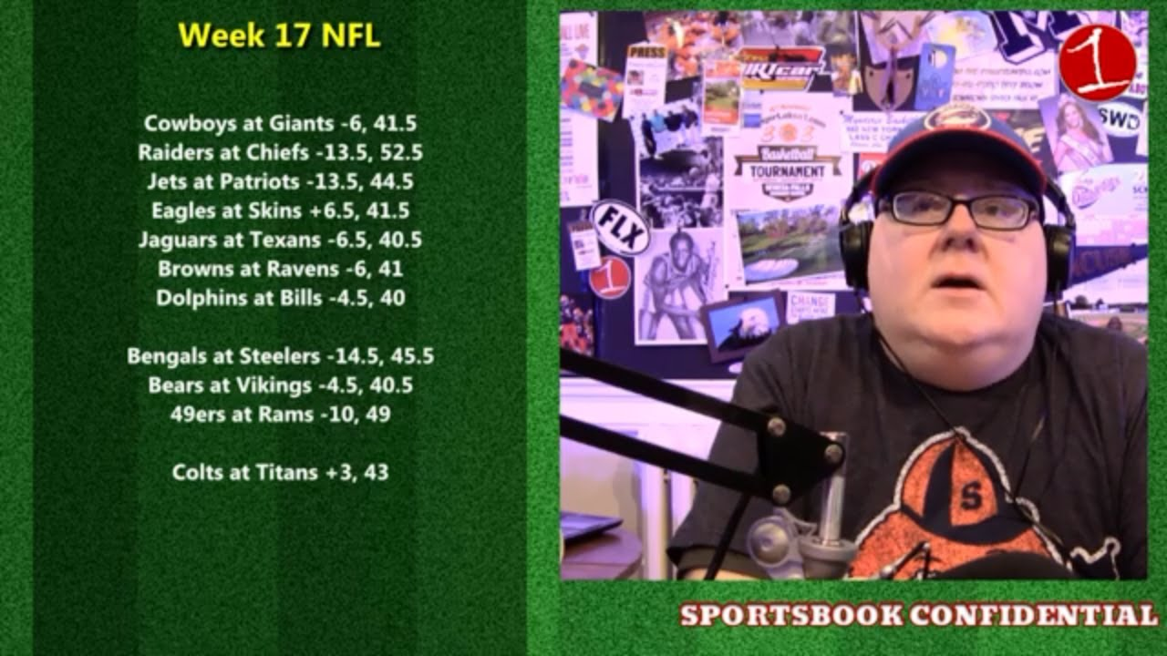 Bowl Games & NFL Week 17 .::. Sportsbook Confidential 12/28/18