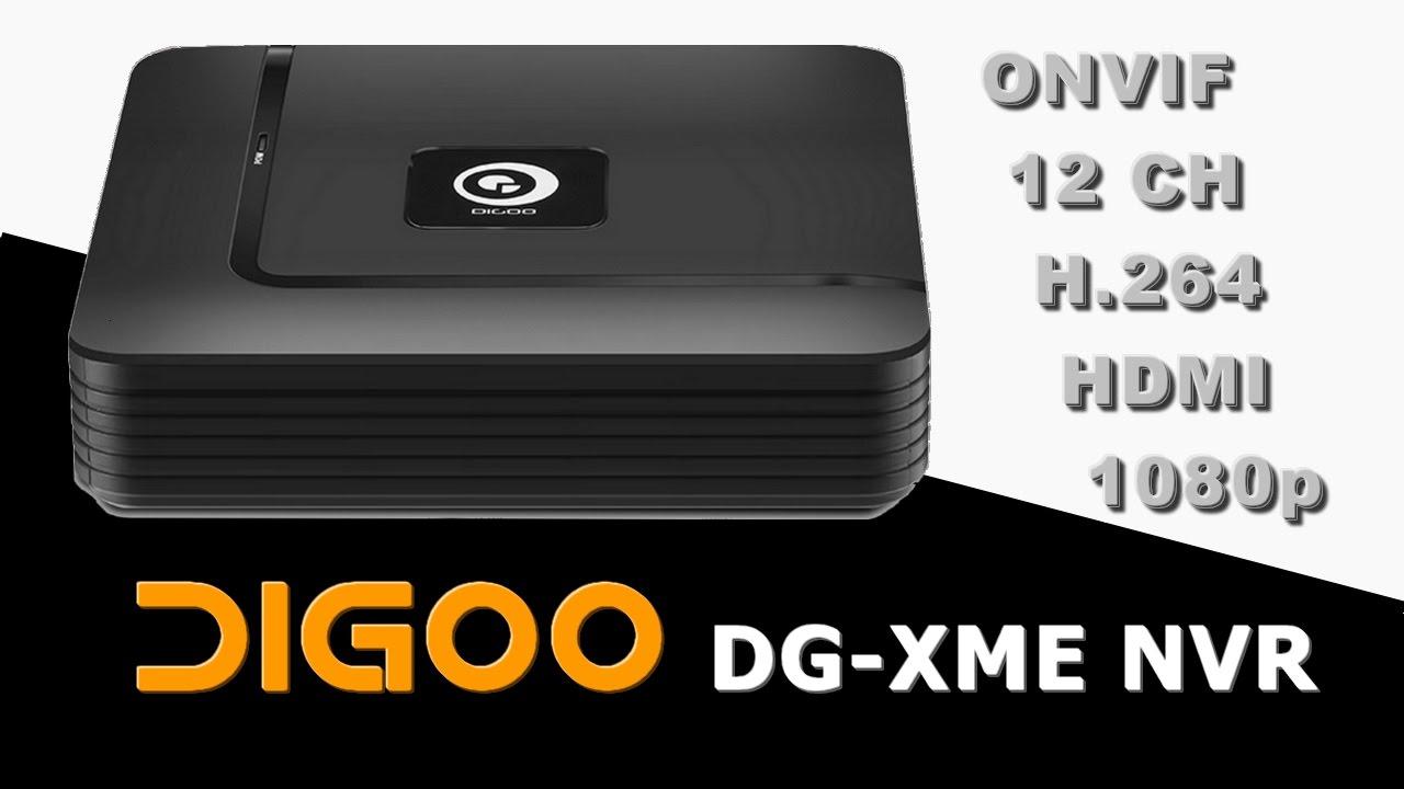 DIGOO DG-XME NVR / GUUDGO GD-NR01 - Web Setup