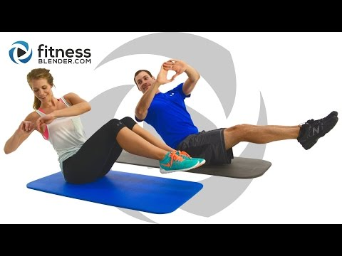 24 Minute At Home Abs Workout Ab Blasting Interval Workout