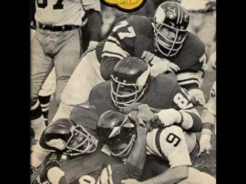 Joe Kapp 1969 Minnesota Vikings Purple People Eaters Tribute
