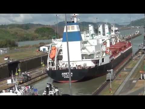 El Canal de Panama · Buques Pasando · GGF