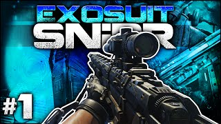 """CoD AW: MORS Sniping! - """"EXOSuit SNiPR"""" #1 (Call of Duty: Advanced Warfare Sniper Gameplay)"""