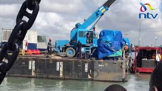 Likoni ferry: Closer look at equipment to be used to recover vehicle