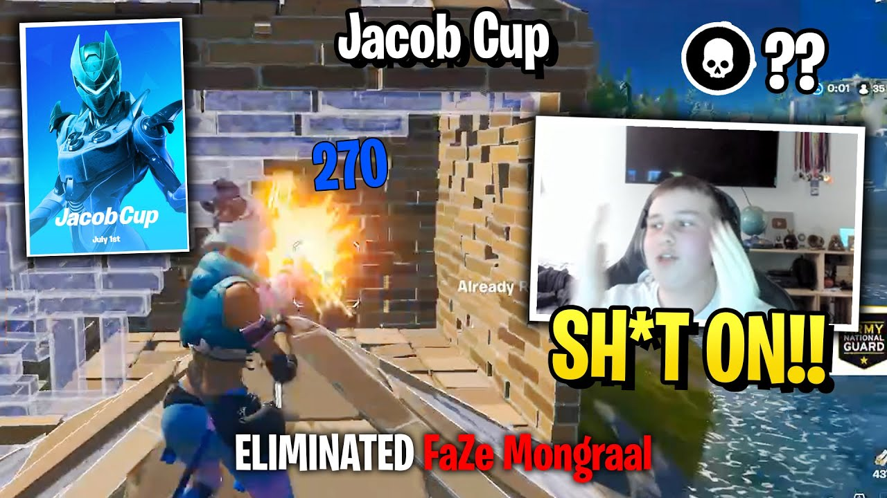 Benjyfishy vs Mongraal Finally 1v1 in Jacob Cup!