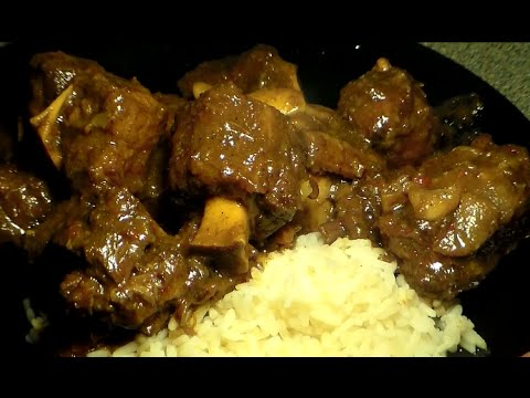 The Best Jamaican Style Oxtails Recipe: How To Make Jamaican Style Oxtails