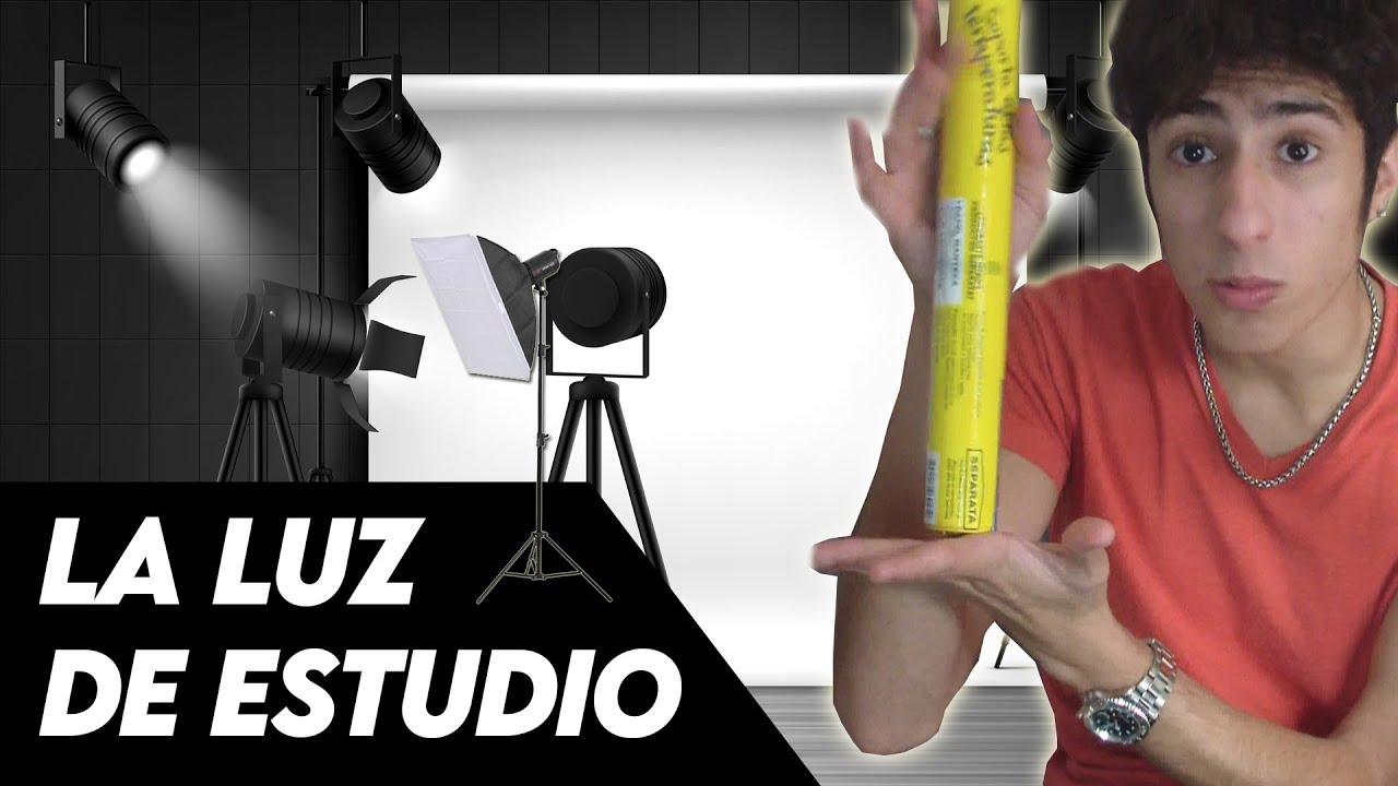 Como hacer una LUZ para tus VIDEOS *mejora tu calidad*   Matimaster🔥
