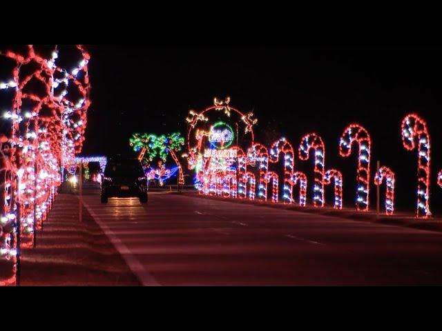 Jones Beach Christmas Lights 2021 Behind The Scenes Magic Of Lights At Jones Beach Youtube