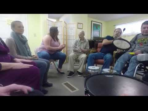 Music Therapy helps adults with disabilities