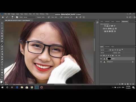 [ TUT ] Hướng Dẫn Xóa Mụn Làm Mịn Da Bằng Photoshop Cực Nhanh Chưa đầy 2 Phút