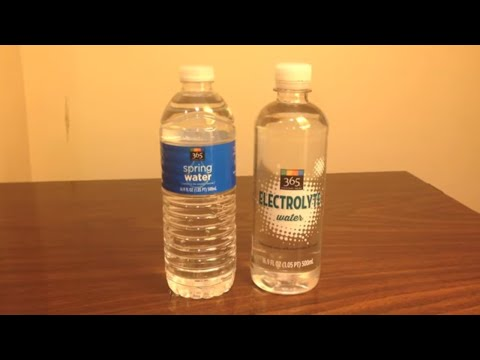 how to make electrolyte water