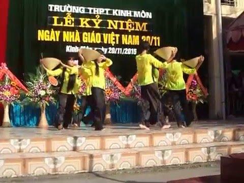 Múa bài Lúa mùa duyên thắm- lớp 12D, Trường THPT Kinh Môn