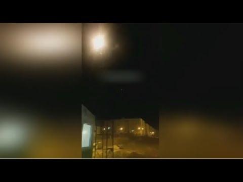 NYT опубликовала кадры попадания иранской ракеты в самолет