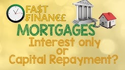 Interest Only or Capital Repayment Mortgage?