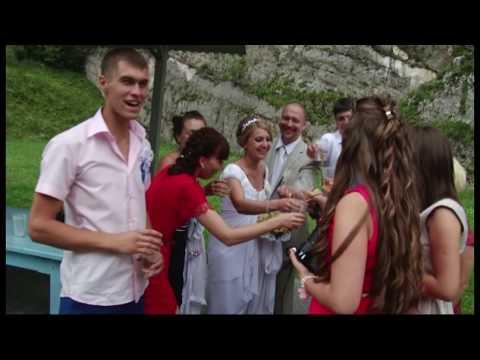Супружеская пара из Москвы справила свою свадьбу в Осетии .  Дигора 2013 год.