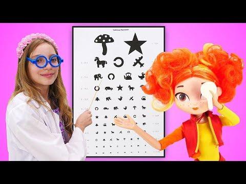 Принцесса София Прекрасная икуклы Сказочный Патруль— Укуклы Аленки плохое зрение?