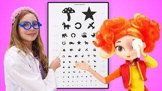 Хороший доктор и проверка зрения - Игровые формы обучения