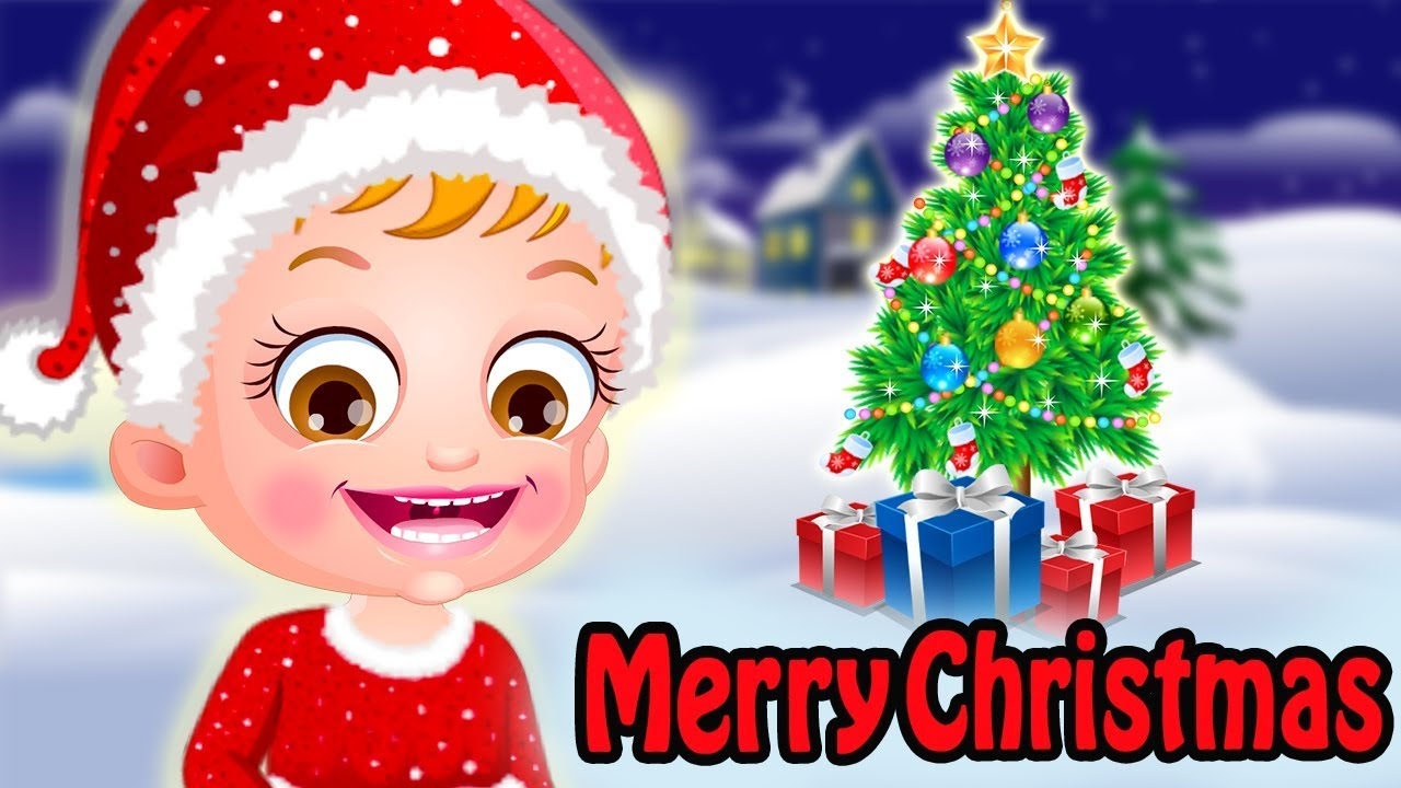 baby hazel christmas time game movie by baby hazel games
