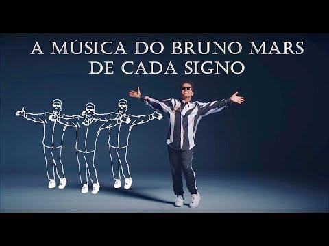 A música do Bruno Mars de cada signo (legendado)