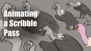 LIVE - Animation Demo: Vulture Acting!