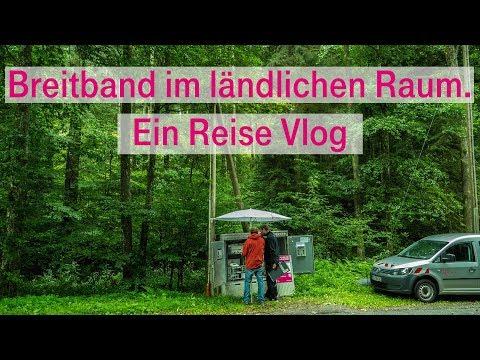 Social Media Post: Breitband im ländlichen Raum. Ein Reise Vlog