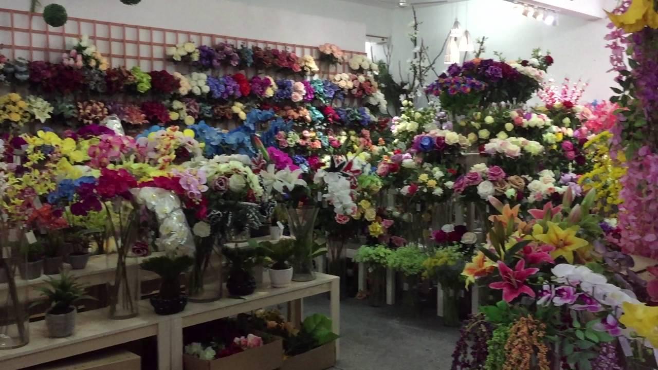 Gkflower com flores artificiales youtube - Plantas artificiales ...