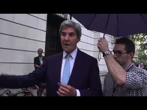 Exclusive with Secretary John Kerry '66 — Yale Climate Conference