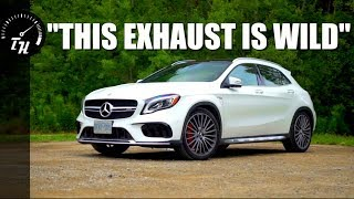 The 2018 Mercedes-AMG GLA 45 is an INSANE Hatchba- uh, SUV...