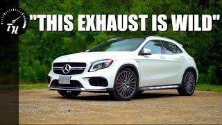 The 2018 Mercedes-AMG GLA 45 is an INSANE Hatchba- uh, SUV...