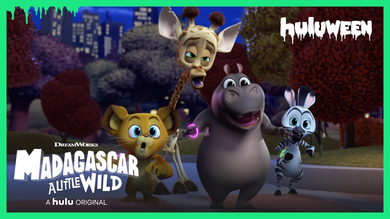 Madagascar: A Little Wild | A Fang-tastic Halloween - Trailer (Official) • A Hulu Original